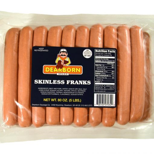 8-to-1 skinless franks