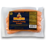 Natural Casing Franks- Gluten Free
