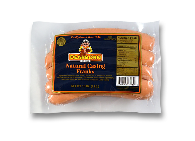 how to cook natural casing hot dogs