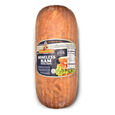 Boneless ham, whole