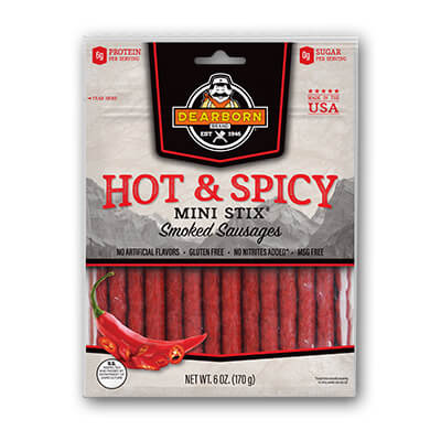 Hot & Spicy Mini Stix