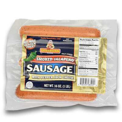 Smoked Jalapeño Sausage
