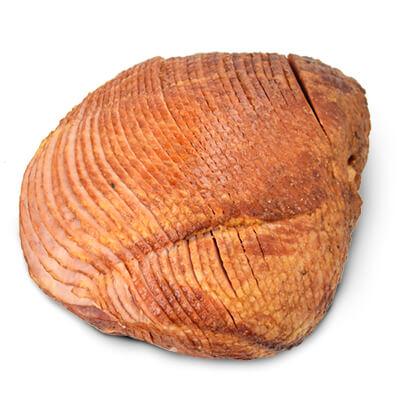 unglazed ham, whole