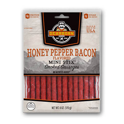 Honey Pepper Bacon MINI STIX