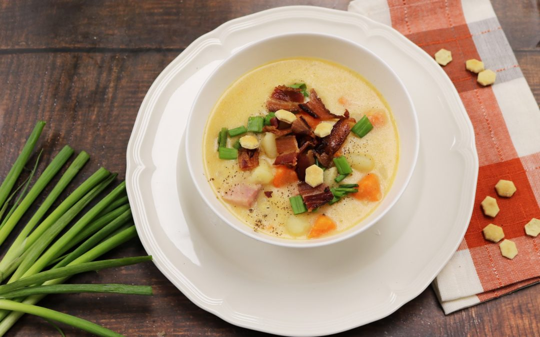 Dearborn Ham and Cheese Soup – Instant Pot